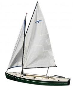 Zeilboot opslag