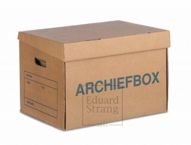 Archiefbox Eduard Strang Verhuizingen