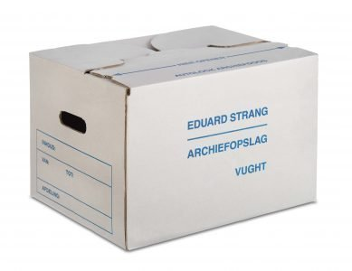 Archiefbox van Eduard Strang Verhuizingen